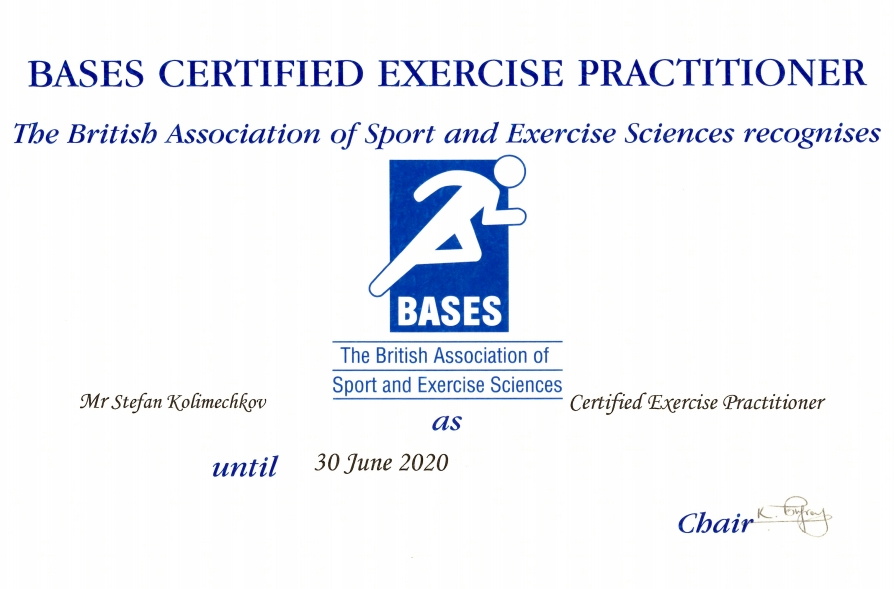 275e3a98ebd The Certified Exercise Practitioner qualification · Registered Scientist ·  Practitioner (Exercise   Fitness) · EREPS Personal Trainer Level ...