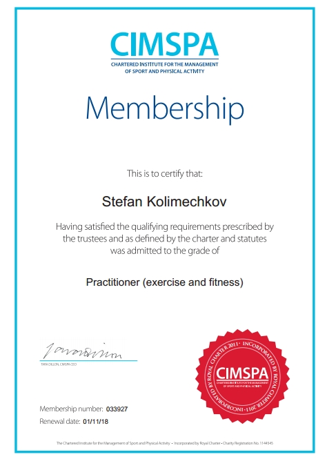 52b42a340a3 ... Practitioner (Exercise   Fitness) · EREPS Personal Trainer Level ...