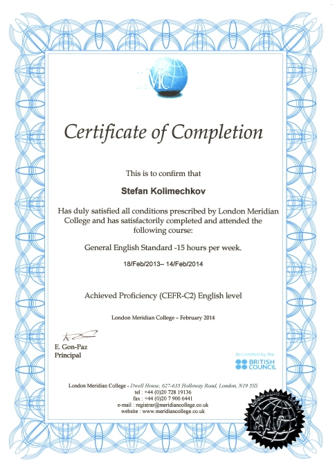9d036d074d2 ... Personal Trainer Level 3 Certificate · Certificate of English ...