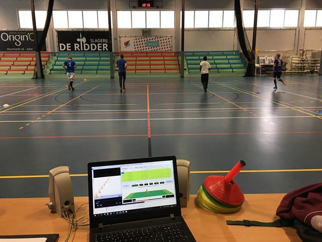 Physical education technologies Royal Atheneum Aalst high school in Belgium