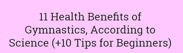 Health Benefits of Gymnastics