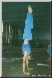 Stef Kolimechkov - The Perfect Handstand