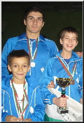 Levski Sofia Gymnastics Club has won most medlas at the 2006 Gymnastics Tournament in Blagoevgrad