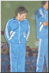 Stefan Kolimechkov - Gymnastics Tournament 2006 Awarding ceremony