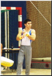 Stefan at his first National competition