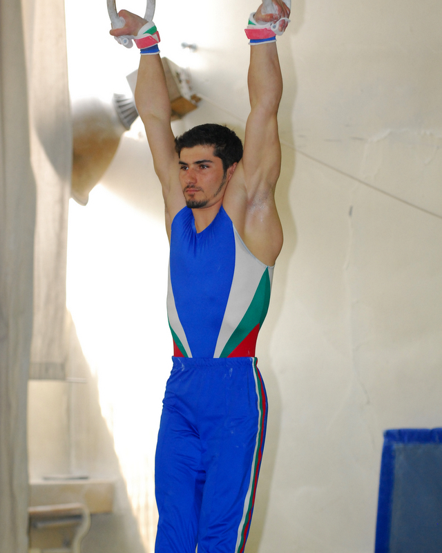 Stefan in the Men's Rings Final - 2008 BG Cup