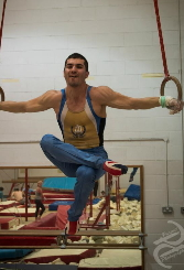 Iron Cross on Rings Gymnastics in London UK
