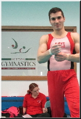 coach Stef - Elite Gymnastics Club, SGA Competition
