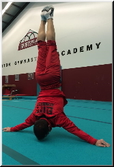 Japanese Handstand at Sutton Gymnastics Academy in London