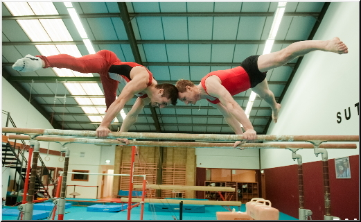 High performance coaches in mens gymnastics in the United Kingdom
