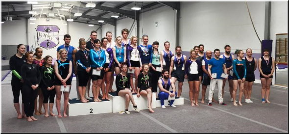 1066 Gymnastics Academy Adult Competition 2015
