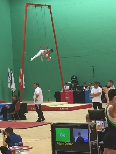 Straddle Planch - London Open 2015