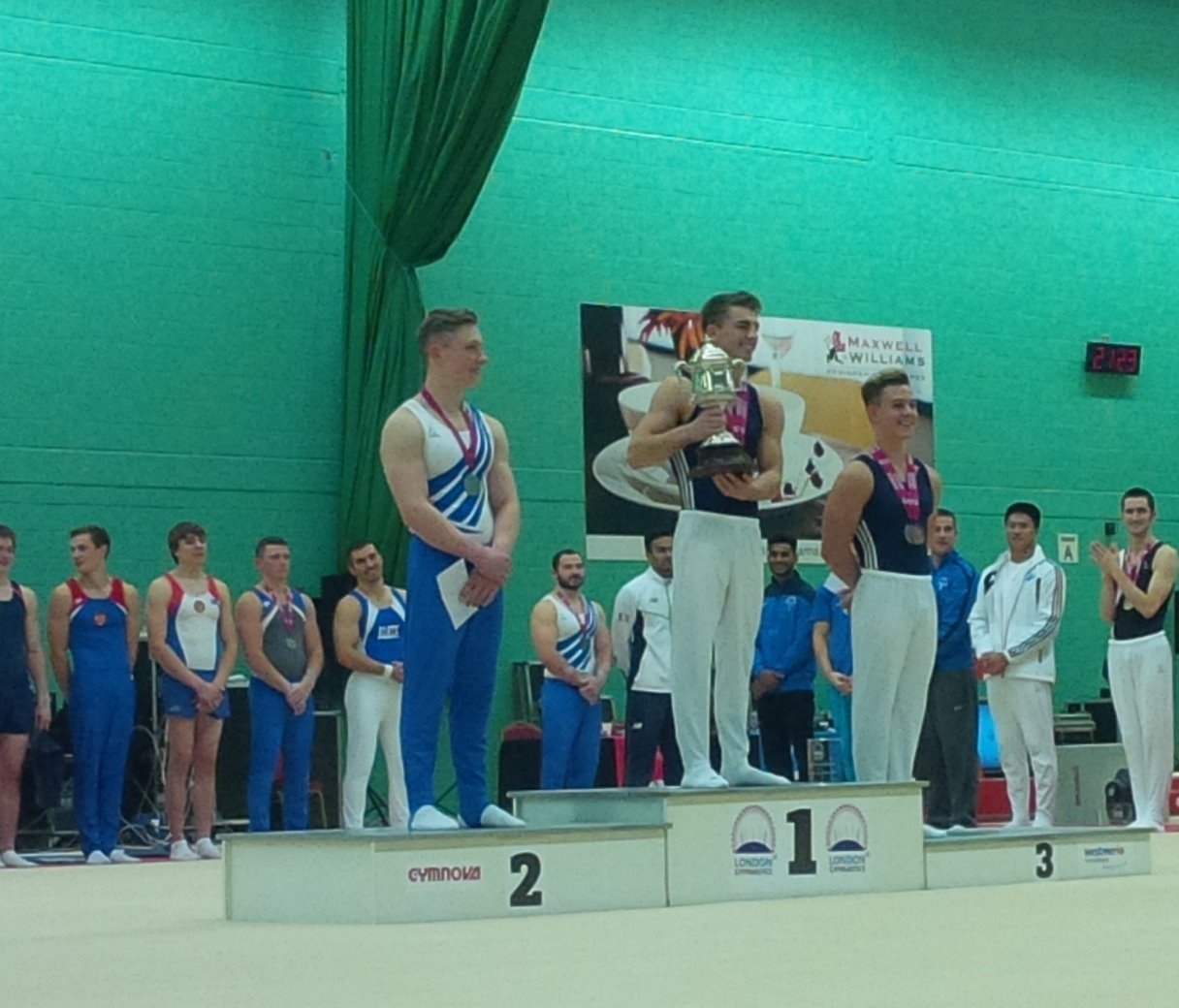 Max Whitlock - the 2015 Westminster Cup Champion