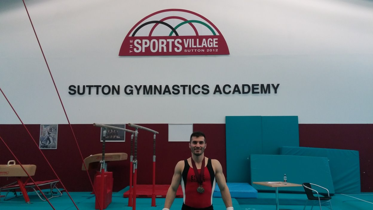 STK SPORT - Stef at the Sutton Gymnastics Academy