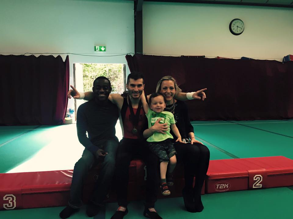 Thank for the support! Sutton Gymnastics Academy in London