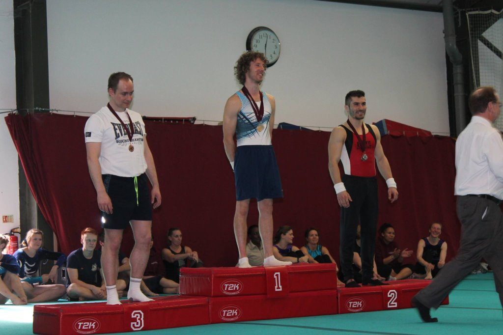 Floor Presentation at the 2015 Sutton Gymnastics Academy