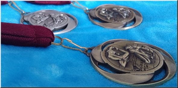 STK Sport - 3 medals at the 2015 Sutton Gymnastics Academy