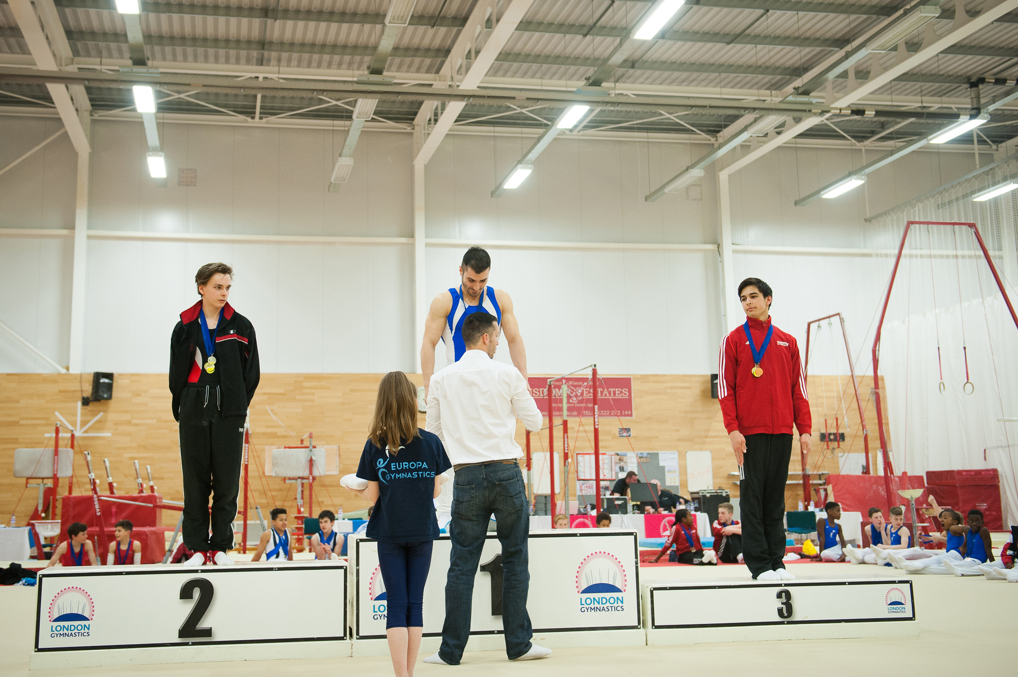 Winning a Gold medal - London Gymnastics
