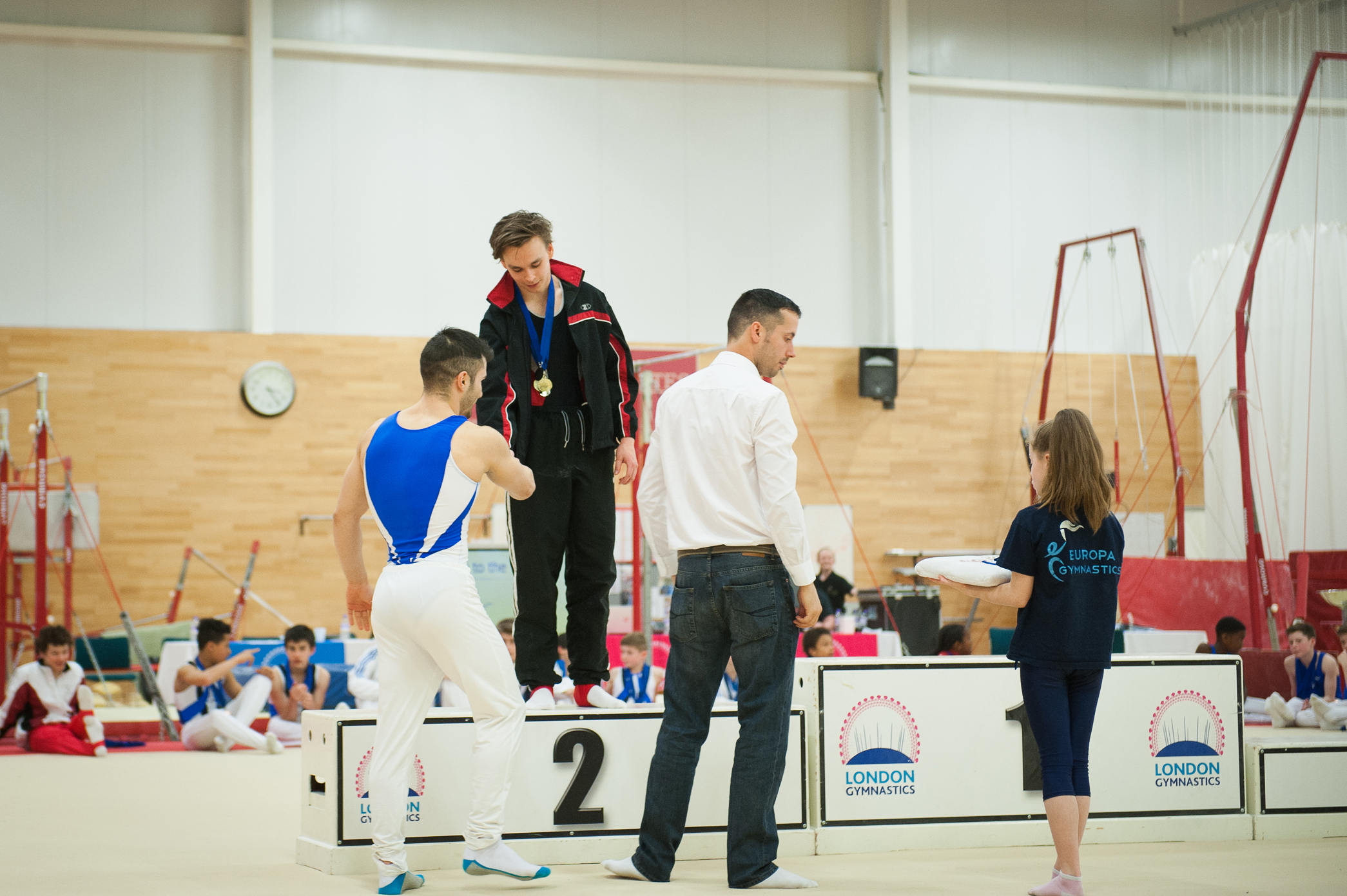 Presentation Ceremony - London Gymnastics