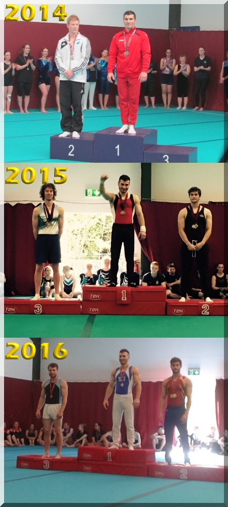 Three-Time Sutton Gymnastics Academy Rings Champion