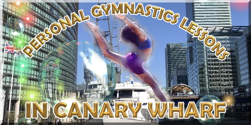 Gymnastics in Canary Wharf
