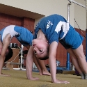 initial school-age children - gymnastics