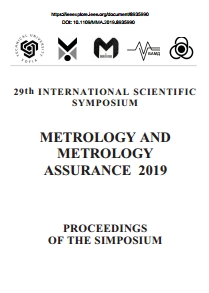 Proceeding Book of the XXIX International Scientific Symposium 'Metrology and Metrology Assurance' 2019