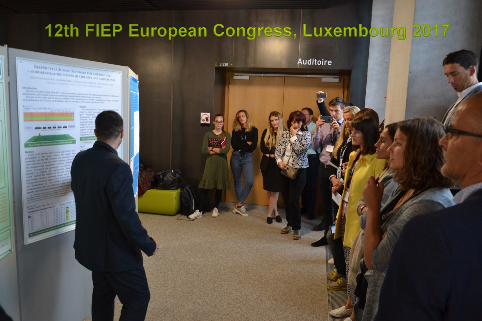 Beep Shuttle Junior was presented at the 12th FIEP European Congress in Luxembourg