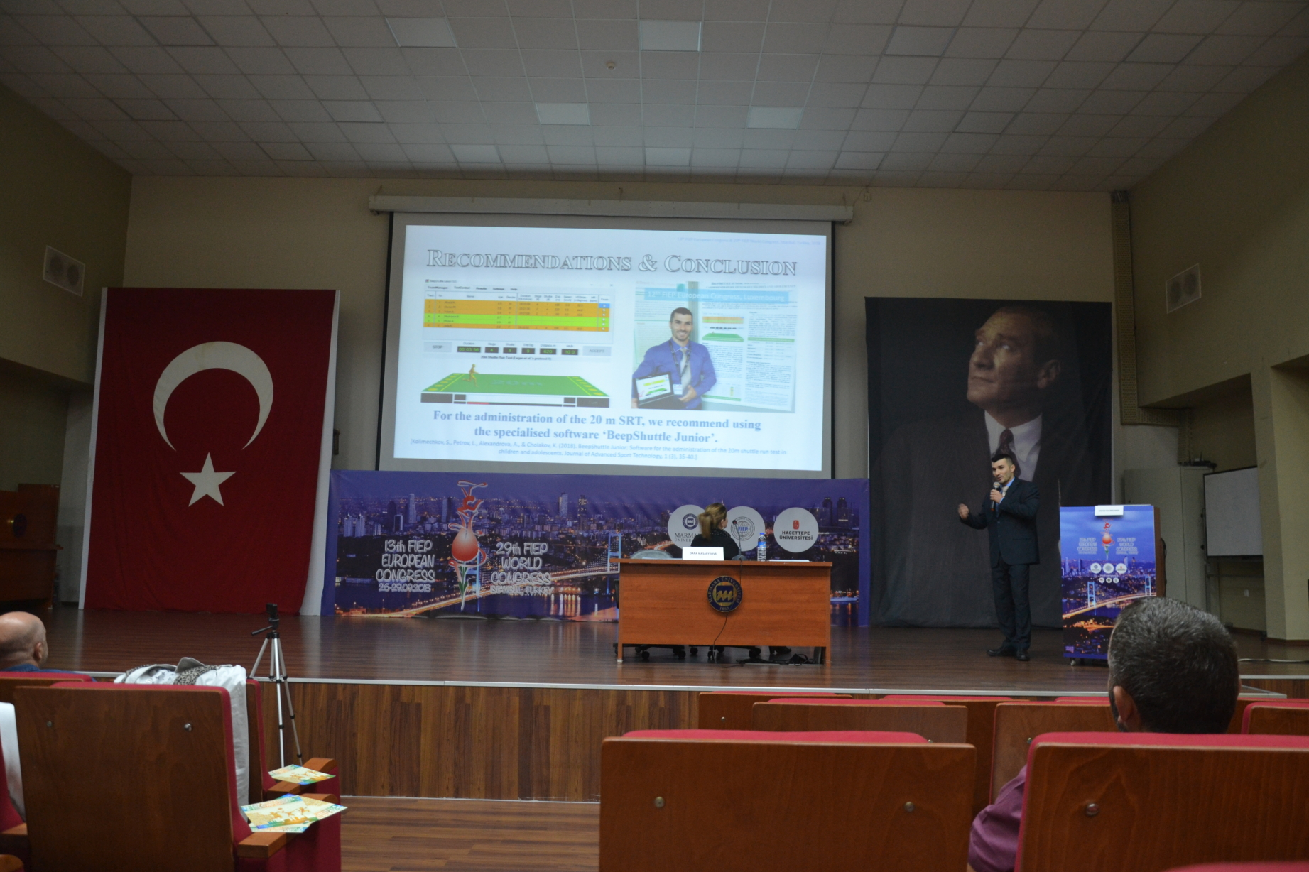 BeepShuttle Junior was recommended at the FIEP Physical Education Congress in Istanbul, Turkey, 2018