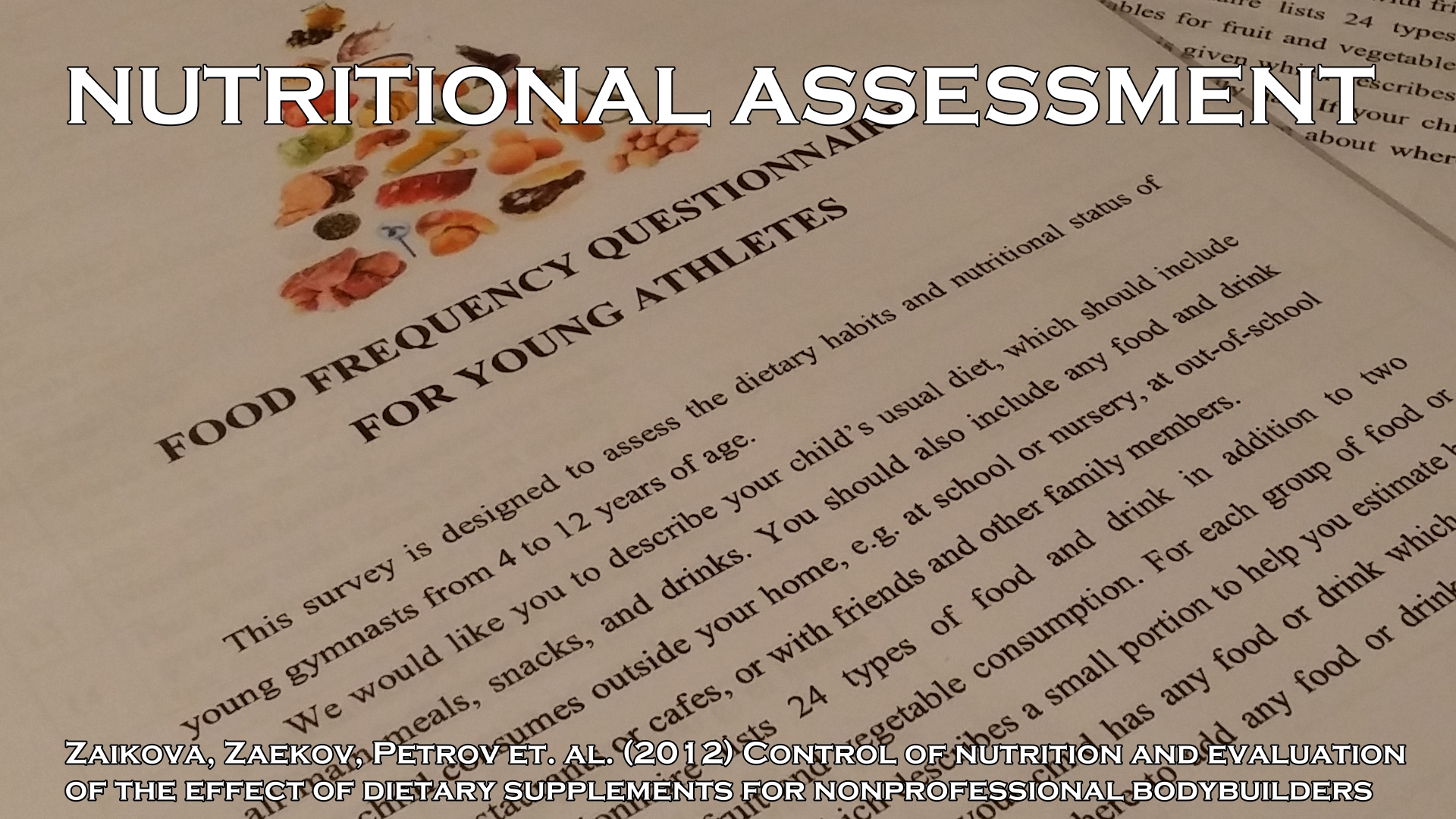 Research paper on nutritional supplements  write my college