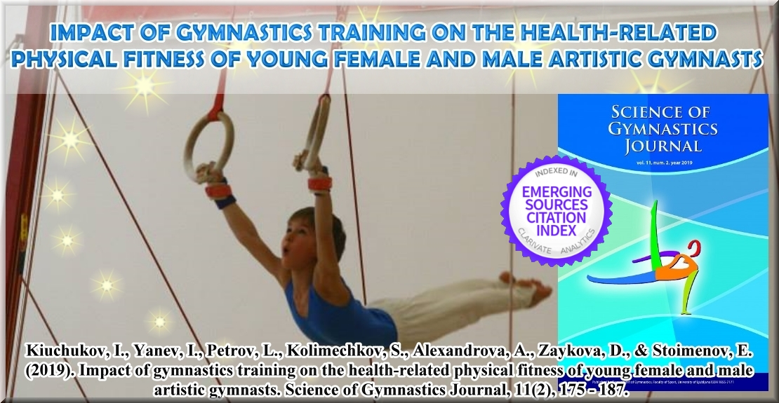 Impact of Gymnastics Training on the Health-Related Physical Fitness of Young Female and Male Artistic Gymnasts