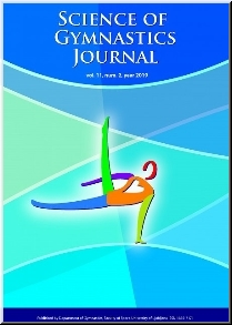 Science of Gymnastics Journal Vol.11/2019