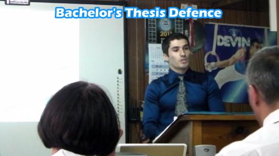 Bachelor degree thesis
