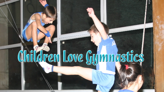 Children Love Gymnastics