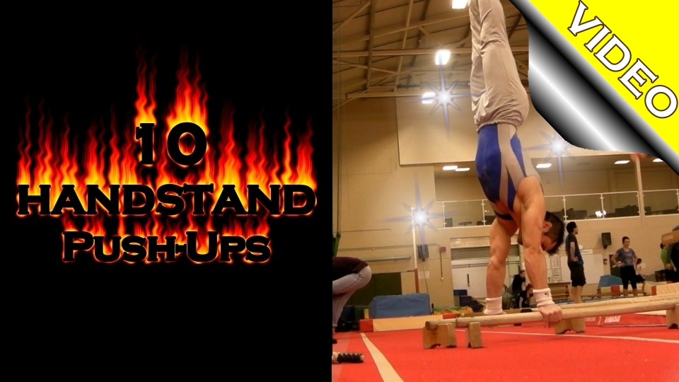 Handstand Push-Up (10 reps)