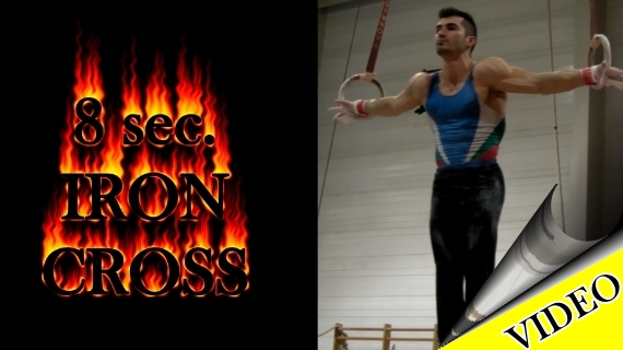 Iron Cross on Rings (8 sec.)